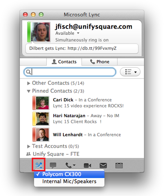 how to set a headset as default device mac osx